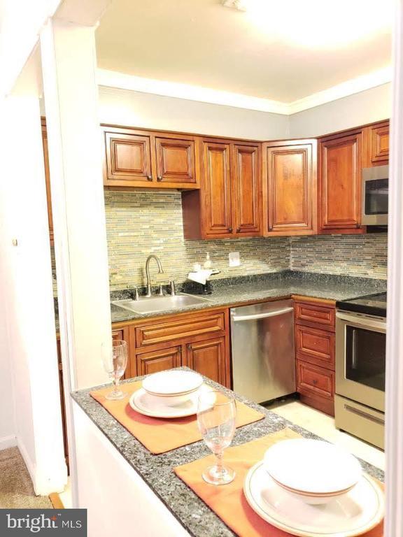 kitchen view 2 - 10110 CAMPUS WAY S #102-8A, UPPER MARLBORO