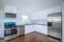 New Kitchen w/Stainless Steel Appliances - 114 68TH PL, CAPITOL HEIGHTS