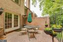 Beautiful private patio - 2369 S QUEEN ST, ARLINGTON