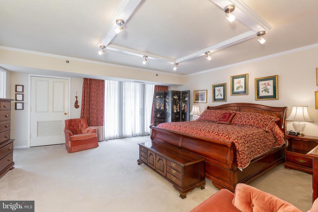 Oversized Master Bedroom - 1200 CRYSTAL DRIVE #1413-1414, ARLINGTON