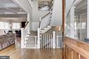Gracious, inviting foyer - 405 N HIGHLAND ST, ARLINGTON