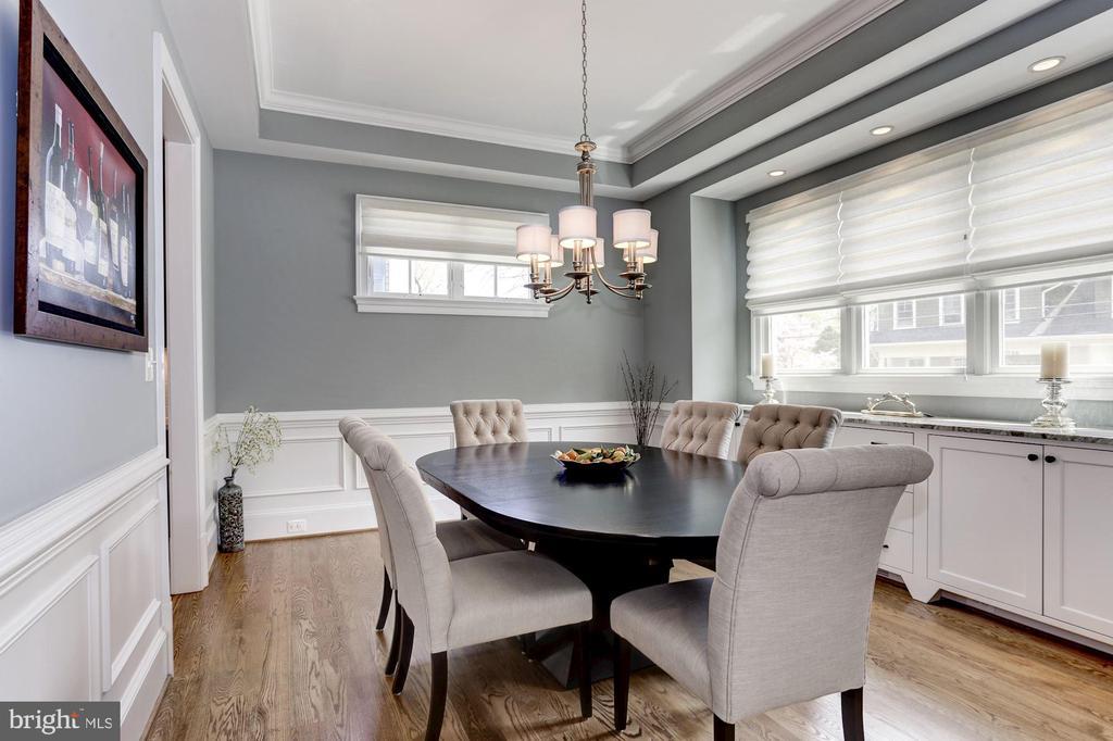 Beautiful custom window treatments - 405 N HIGHLAND ST, ARLINGTON