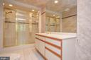 Basement bathroom - 1803 ABBEY GLEN CT, VIENNA