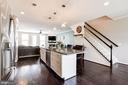 Main Floor Open Layout with Stunning Hardwoods - 42412 BENFOLD SQ, ASHBURN