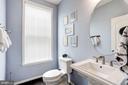 Main Level Half Bath - 42412 BENFOLD SQ, ASHBURN