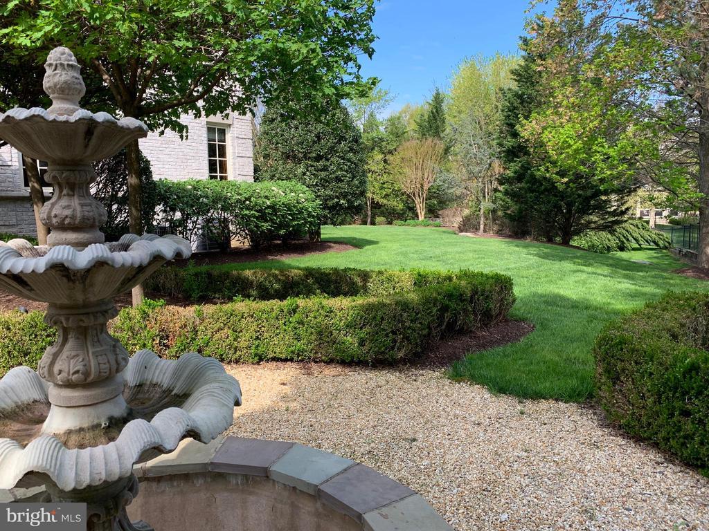 Rear Gardens / Lawns - 1179 ORLO DR, MCLEAN