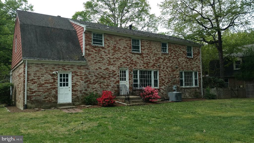 REAR VIEW OF HOME - 4312 SOUTHWOOD DR, ALEXANDRIA