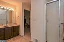 Master bathroom - 7912 RAILROAD ST, DUNN LORING