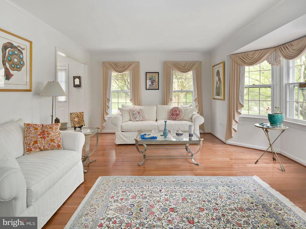 Living room, hardwood floors - 1232 BISHOPSGATE WAY, RESTON