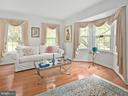 Living room with bay window - 1232 BISHOPSGATE WAY, RESTON