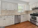 Kitchen, tile backsplash - 1232 BISHOPSGATE WAY, RESTON