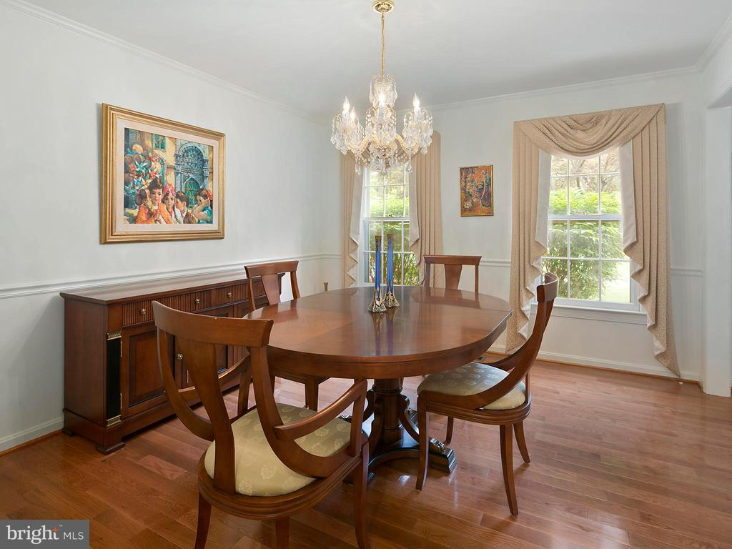 Formal dining room - 1232 BISHOPSGATE WAY, RESTON