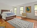 Master bedroom with hardwood floors - 1232 BISHOPSGATE WAY, RESTON