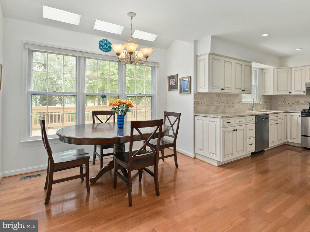 Eat-in kitchen, breakfast area - 1232 BISHOPSGATE WAY, RESTON