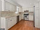 Renovated  kitchen, stainless steel appliances - 1232 BISHOPSGATE WAY, RESTON
