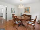 Formal dining room, hardwood floors - 1232 BISHOPSGATE WAY, RESTON