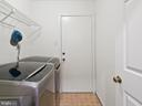 Main level laundry/mud room - 1232 BISHOPSGATE WAY, RESTON