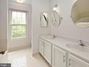 Master bathroom, dual vanity - 1232 BISHOPSGATE WAY, RESTON