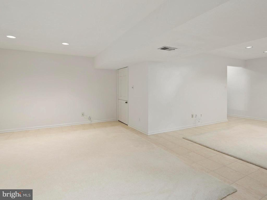 Finished lower level - 1232 BISHOPSGATE WAY, RESTON