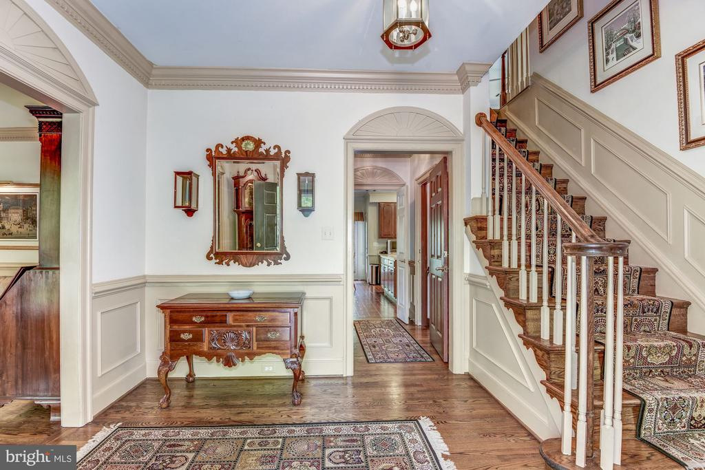 Foyer entry way - 6412 NOBLE ROCK CT, CLIFTON