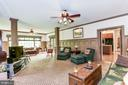Extensive moldings throughout - 6412 NOBLE ROCK CT, CLIFTON