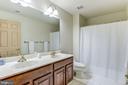 Hall bath - 6412 NOBLE ROCK CT, CLIFTON