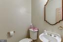 Powder room - 6412 NOBLE ROCK CT, CLIFTON