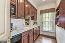 Butlers auxiliary pantry/work area - 6412 NOBLE ROCK CT, CLIFTON