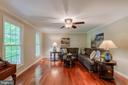 Living Room - 4378 SPILLWAY LN, DUMFRIES