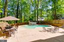 In-ground Pool and stamped concrete pool deck - 4378 SPILLWAY LN, DUMFRIES