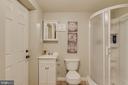 Basement Bath - 4378 SPILLWAY LN, DUMFRIES