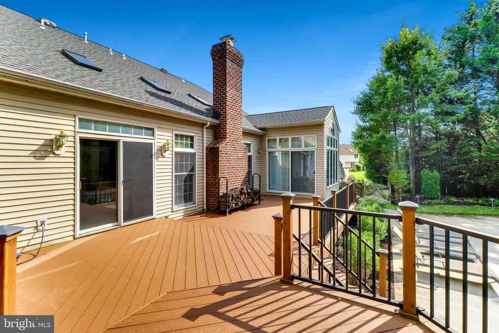 Two-Leveled Deck, Perfect for Family Fun - 7904 STARBURST DR, BALTIMORE