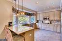 Chef's Kitchen with Breakfast Bar - 7904 STARBURST DR, BALTIMORE