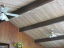Redwood ceiling - 537 MT PLEASANT DR, LOCUST GROVE