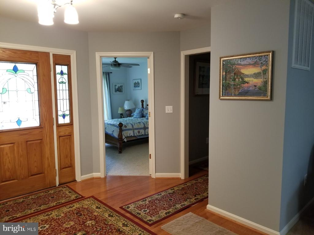 Open Foyer with hardwood flooring - 138 EAGLE CT, LOCUST GROVE