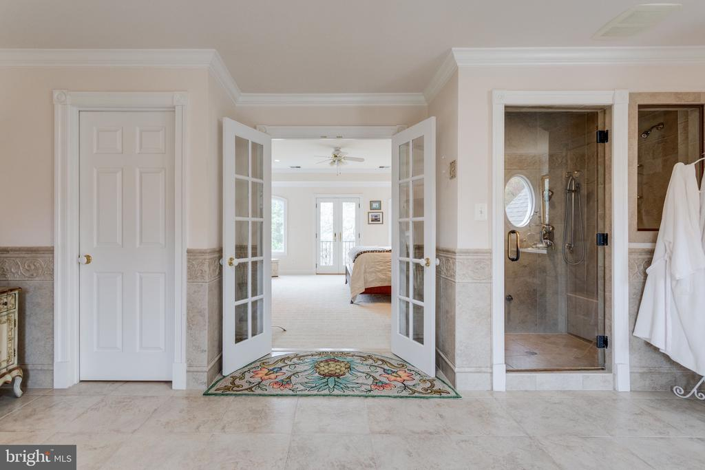 French Doors Lead to Owners Retreat. - 10114 LAWYERS RD, VIENNA