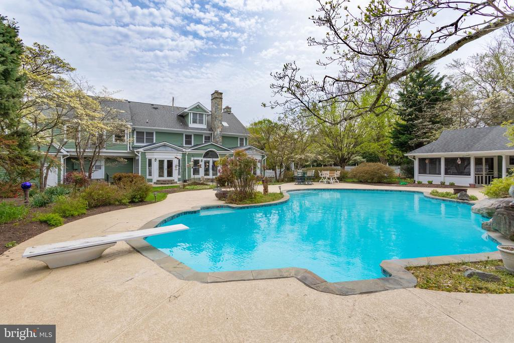 Relax or Entertain by the Pool. - 10114 LAWYERS RD, VIENNA