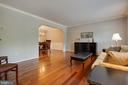Such lovely hardwood floors - 7704 LAKELOFT CT, FAIRFAX STATION