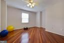And the hardwood floors are beautiful - 7704 LAKELOFT CT, FAIRFAX STATION