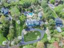 Aerial View of Property. - 10114 LAWYERS RD, VIENNA