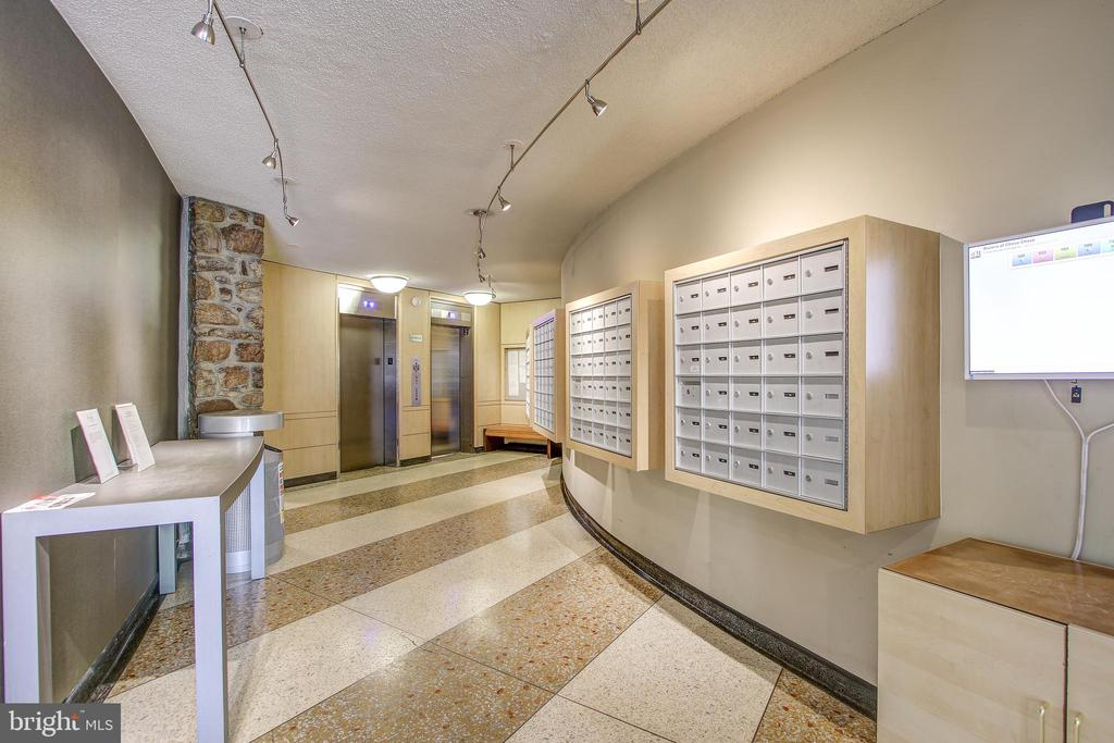Mail Room - 4242 EAST WEST HWY #1120, CHEVY CHASE