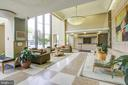 Lobby  24 hour secure building with concierge serv - 4242 EAST WEST HWY #1120, CHEVY CHASE