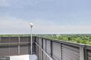 Relax on rooftop deck - 4242 EAST WEST HWY #1120, CHEVY CHASE