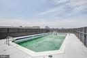 Rooftop Pool - 4242 EAST WEST HWY #1120, CHEVY CHASE