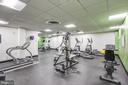 Exercise Room - 4242 EAST WEST HWY #1120, CHEVY CHASE