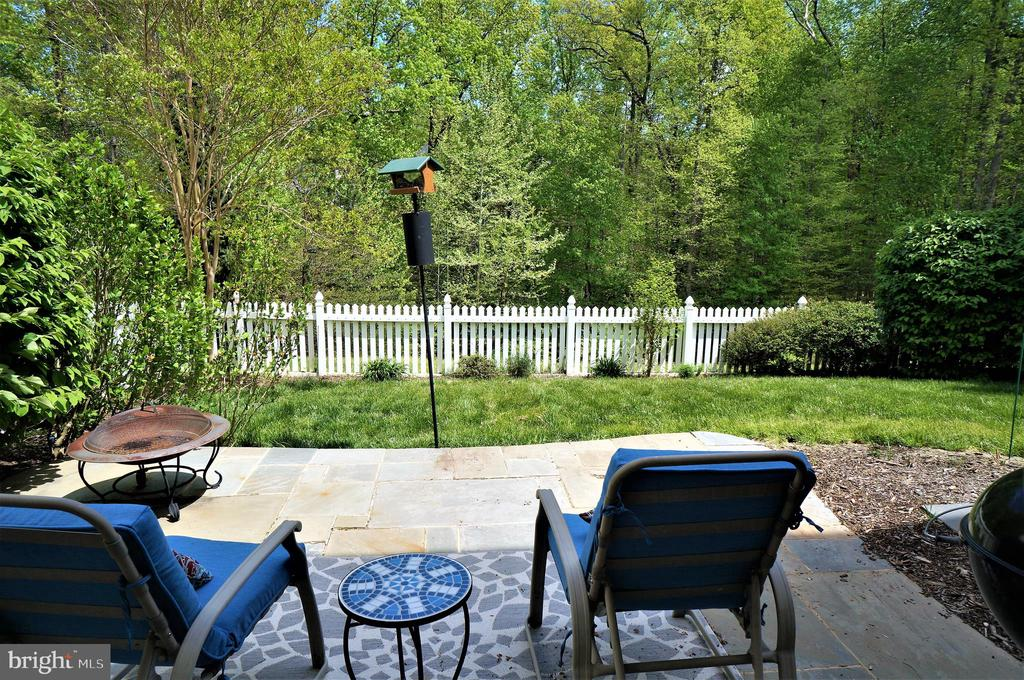 Private Rear Yard View - 9413 PRIMROSE LN, MANASSAS PARK
