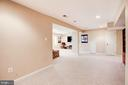 The lower level goes on and on! - 1634 MONTMORENCY DR, VIENNA