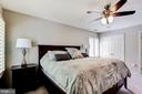 Master bedroom is a true luxury retreat. - 1634 MONTMORENCY DR, VIENNA