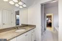 3rd Full Bath on Bedroom Level - 35054 MCKNIGHT CT, ROUND HILL