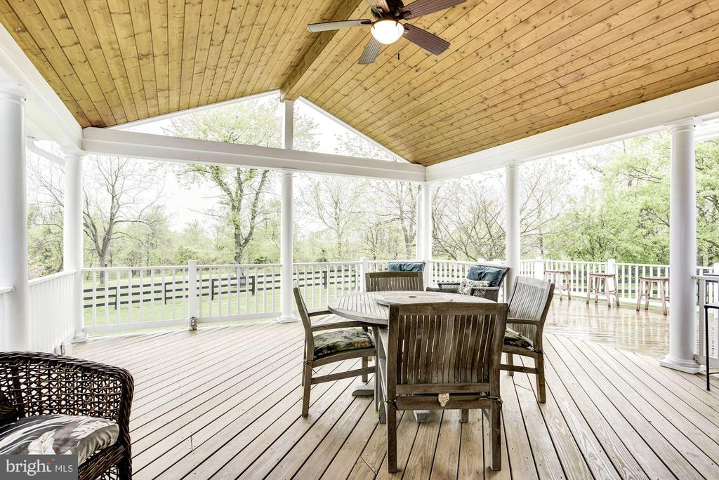 Large Covered Porch - 35054 MCKNIGHT CT, ROUND HILL